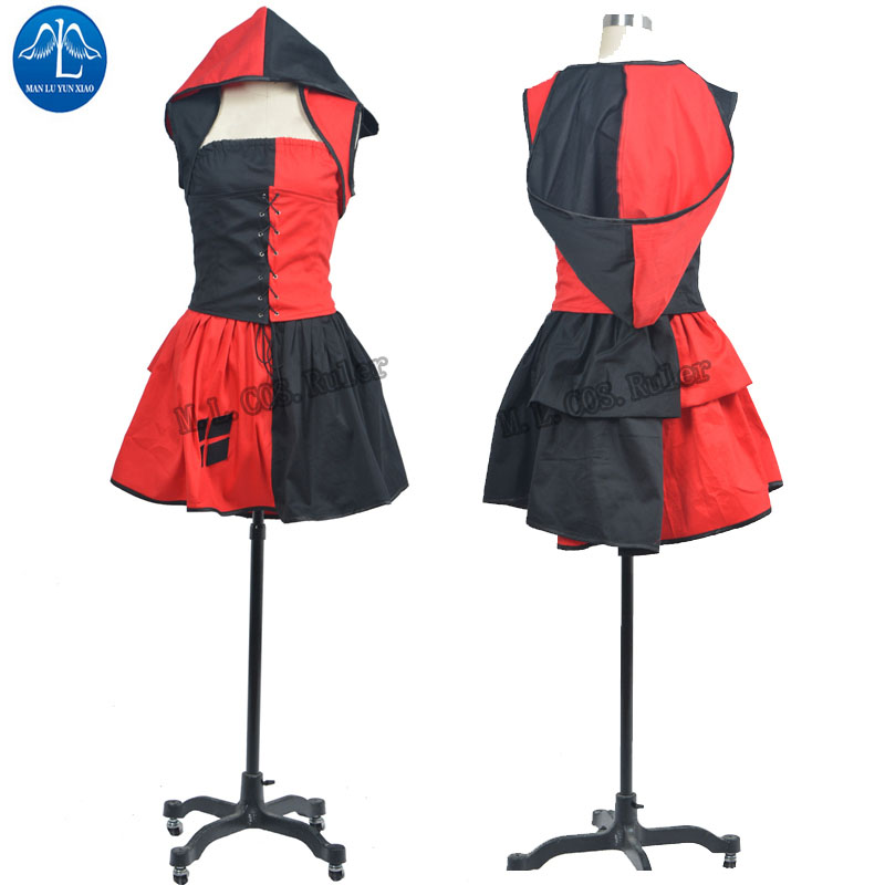 NEW ARRIVAL Batman Harley Quinn Cosplay Costume Dress Up