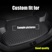 Mat mala do carro para BMW F10 F11 E60 E70 E90 F34 F30 F20 F25 F15 F16 1 3 4 5 7 Series GT X1 X3 X4 X5 X6 Z4 3D tapete do carro-styling