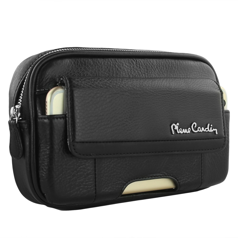 Étui de ceinture en cuir véritable Pierre Cardin pour Samsung Galaxy Note 8 7 5 4 pochette coque de téléphone portable sac de téléphone livraison gratuite