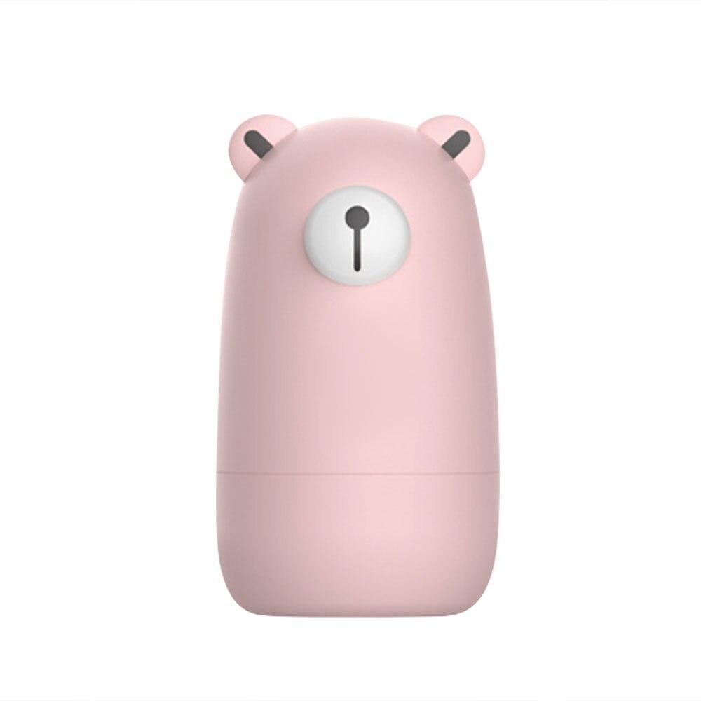 Кусачки для ногтей, детский маникюрный набор, чистый цвет, медведь, 4 шт., медведи, пальчики, ванна, милые маникюрные кусачки для ногтей, пальцы рук и ног, ножницы, красота - Цвет: pink