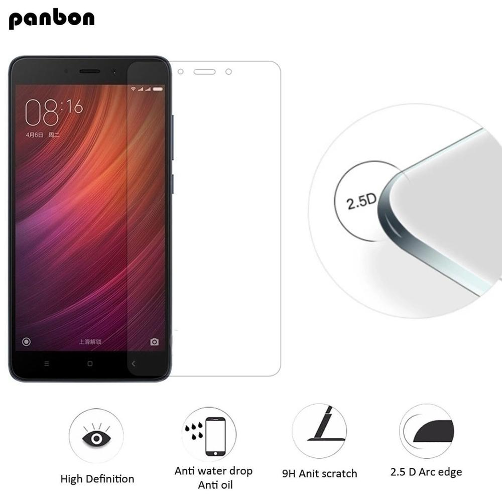 Panbon Original Tempered Glass For Xiaomi RedMi Note 4X 4 Screen Protector for Xiaomi RedMi Note 4 4X Pro Film Note4 Note4X