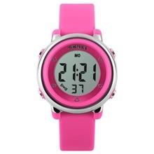 купить Outdoor Sports Kids LED Alarm Digital Watch Stopwatch Children's Wristwatch Children's watches Kids watches дешево