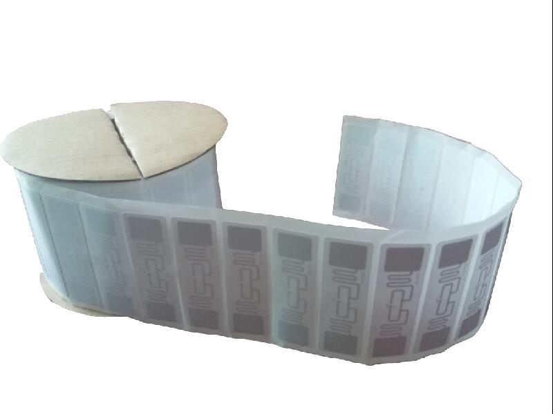1000pcs/roll UHF RFID Tag ISO 18000-6C 915MHz AZ 9662 H3 Chip Passive RFID UHF Sticker Label Size: 73*23mm Read Range 6m 1000pcs long range rfid plastic seal tag alien h3 used for waste bin management and gas jar management
