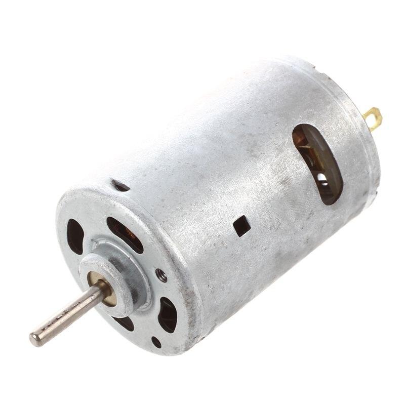 12 V 2A 20000 RPM Potente DC Mini Motor per le Auto Elettriche Progetto FAI DA TE12 V 2A 20000 RPM Potente DC Mini Motor per le Auto Elettriche Progetto FAI DA TE