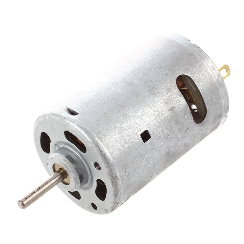12V 2A 20000RPM Powerful DC Mini Motor for Electric Cars DIY Project syb 170 mini breadboard for diy project red