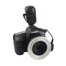 W48 Ring Flash 200Lm Led Macro Lighting With Diffuser Filter 49Mm/52Mm/55Mm/58Mm/62Mm/67Mm For DSLR Camera US