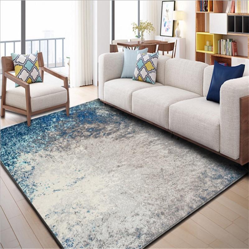 AOVOLL européen moderne minimaliste abstrait tapis tapis et tapis pour la maison salon chambre tapis tapis enfants chambre tapis