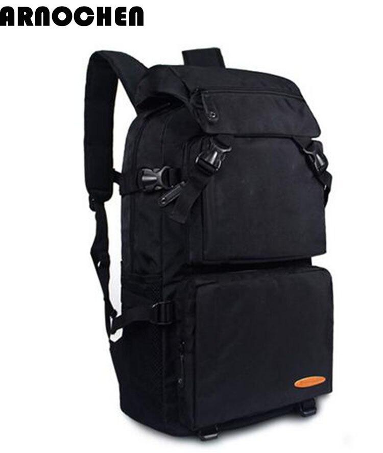 Responsible Arnochen 2018 New Male Bulk Bag Backpack Travel Bag Travel Female Mountaineering Bag Waterproof Leisure Computer Backpacks Xd033 Aromatic Flavor Backpacks