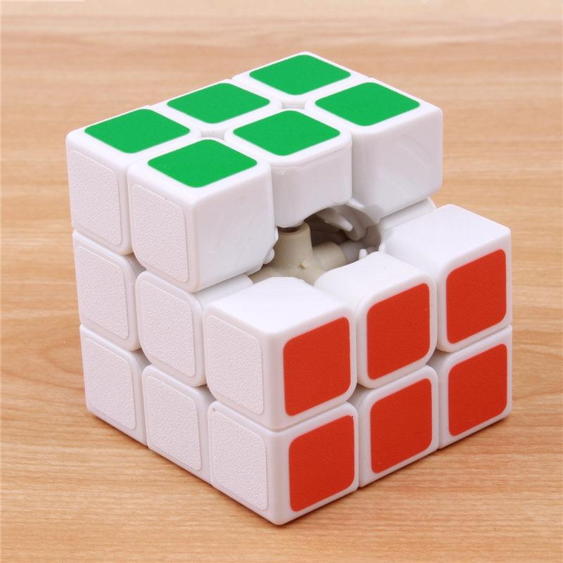 Klassik oyuncaqlar Cube3x3x3 PVC Etiket Bloku Puzzle Sehrli Sürət - Bulmacalar - Fotoqrafiya 3