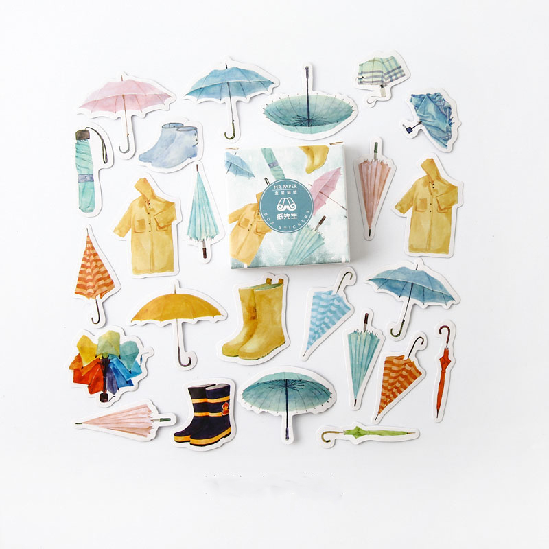 40 Pcs/pack Pour Sorrow Bullet Journal Decorative Stationery Stickers Scrapbooking DIY Diary Album Stick Label