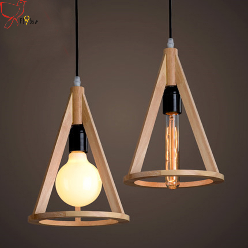 Modern chinese style wooden creative pendant light for restaurant cafe bar lighting nordic vintage solid wood hanging lights chinese style wooden 1 2 3 heads lamps chinese restaurant new classical restaurant chandelier wooden sheepskin chandelier