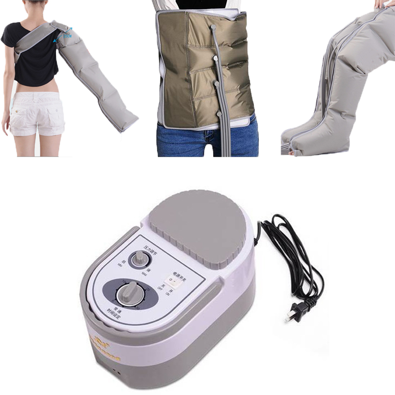 New Air Pressure Massaging Machine Whole Body Massager Release Edema Varicosity Myophagism Body With Arm and Leg Sleeve waist rice cooker parts steam pressure release valve