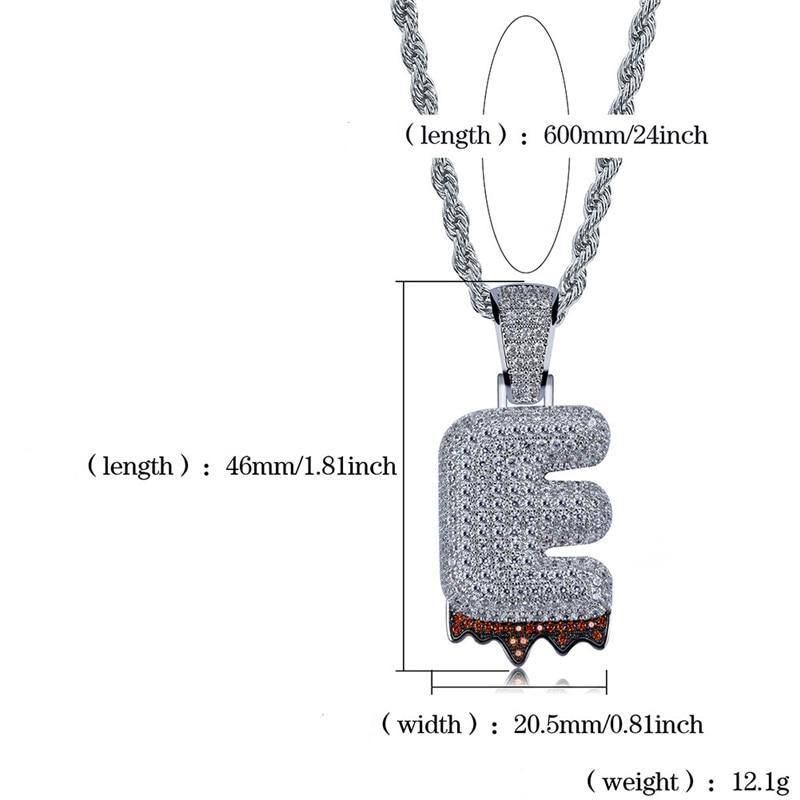 bubble letter necklace42