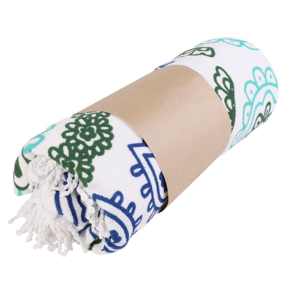 Microfiber Summer Sport Bath Towels Round Sand Beach Towel 1003103001_2