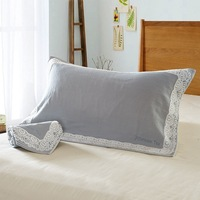 One Pieces Pillow Towel 50 80CM European Style Pillow Protector Pillow Cover For Bed Wetting And