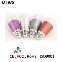 Smart WIFI Lighting Remote Control 3WRGB Led Bulb Light E27 7W LED