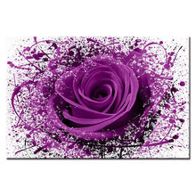 Large Canvas Painting Pictures Rose series poster Wall Pictures for Living Room Print Paintings Home Decor Canvas Framed(China)