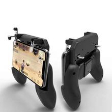 W10 ไร้สาย PUBG จอยสติ๊กรีโมทคอนโทรลสำหรับ iOS Android โทรศัพท์มือถือ Handle Controller เกมคอนโซลอุปกรณ์เสริม