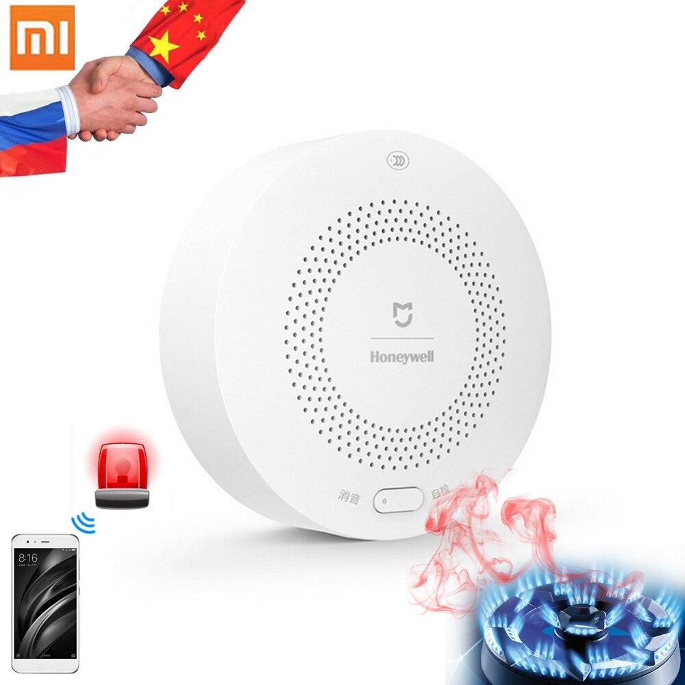 Xiaomi Honeywell Gaz D'alarme Détecteur Aqara Zigbee Télécommande CH4 Surveillance Plafond et Mural Facile Installer Travail Mijia APP