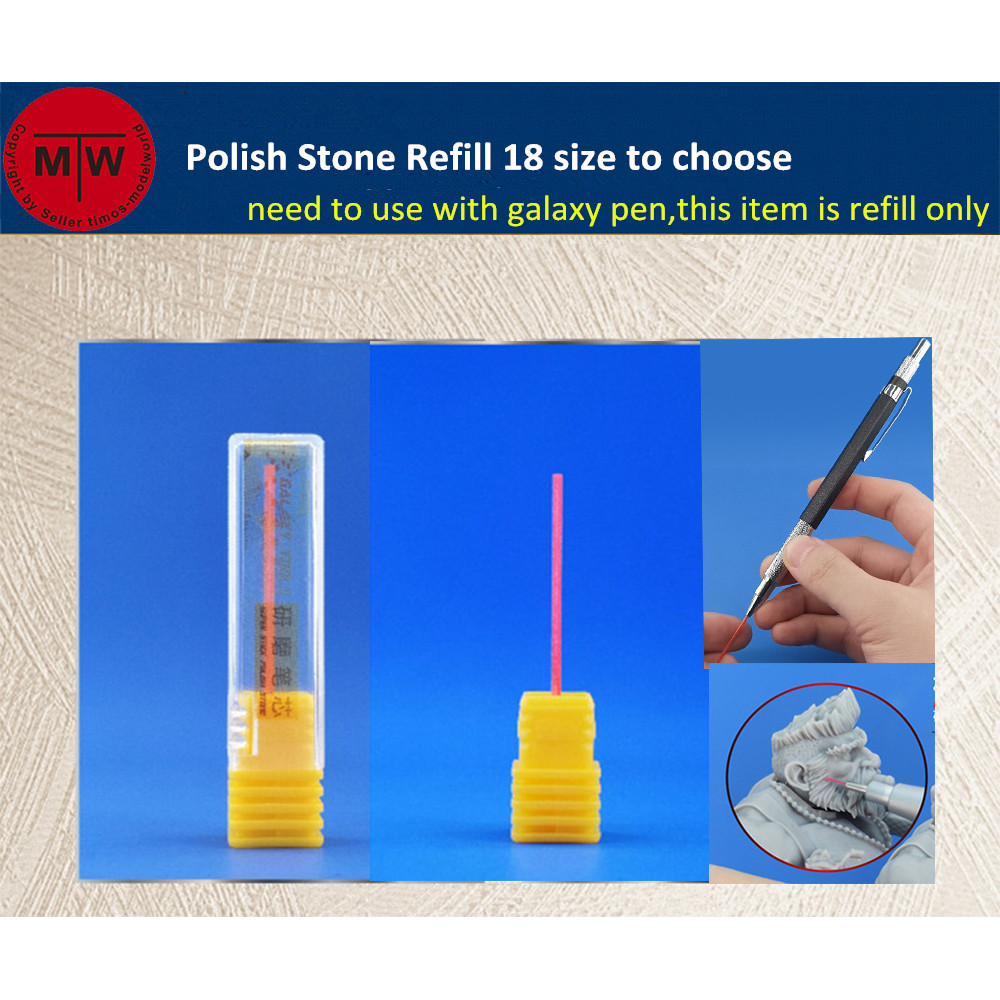 Super Stick Polish Stone Refill Replacement Model Polishing Grinding Rod Model Precision Improvement