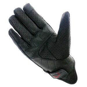 Image 4 - Rękawice motocyklowe skórzany ekran dotykowy mężczyźni oryginalne rękawice rowerowe koziej skóry wyścigi motocyklowe Guantes De rękawice motocyklowe De Motocicleta