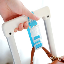 Portable Adjustable Travel Accessories Buckle Button Security Bag Parts Suitcase Bag Hanger Luggage Strap Aircraft Supplies