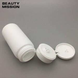 Image 2 - white 80g talcum powder bottles 50 pcs/lot Sifter Bottle 80ml Portable baby talcum powder empty bottle