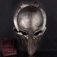 Żywica Brązowy Predator Maska Orzeł Terror Film Maski Party Masquerade Mask Mascara Fancy Costume Cosplay Halloween Boże Narodzenie Prezent