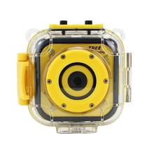 цена Kids Waterproof Digital Video HD Action Camera 720P Sports 1.77inch LCD Screen Camera Camcorder DV for Boys Girls Birthday Gif