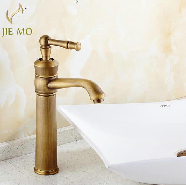 NEW Design Classic Modern Special Hotu0026cold Water Tap Bathroom Vessel Sink  Faucet In Antique Brass Wholesale