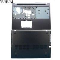 New case cover For Lenovo Z500 P500 TOP COVER Palmrest Upper Case +Bottom Base Cover Case