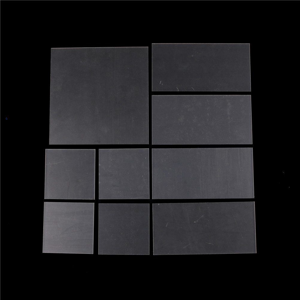 1pcs 2-5mm thickness Acrylic sheets Plastic Transparent Board Perspex Panel Clear Acrylic Perspex Sheet Cut