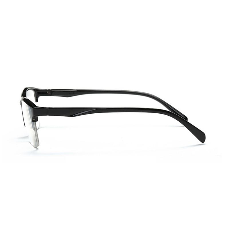 Ahora Ultralight Square Half Frame Reading Glasses Presbyopic Glasses Men Women +0.25 0.5 0.75 1 1.25 1.5 1.75 2 2.25 2.5 2.75 3