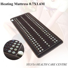 2016 NEW Cheap heating mattress health care heated cushion nature jade beauty sofa pad as seen on tv 0.7X1.6M