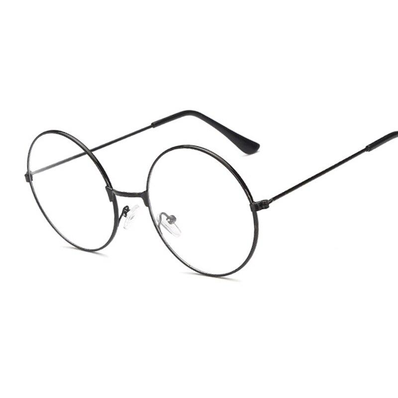 1bc1b93ee84 Vintage Round Harry Potter Glasses Frame Female Brand Designer Gafas De Sol  Spectacle Plain Glasses Gafas Eyeglasses Eyewear