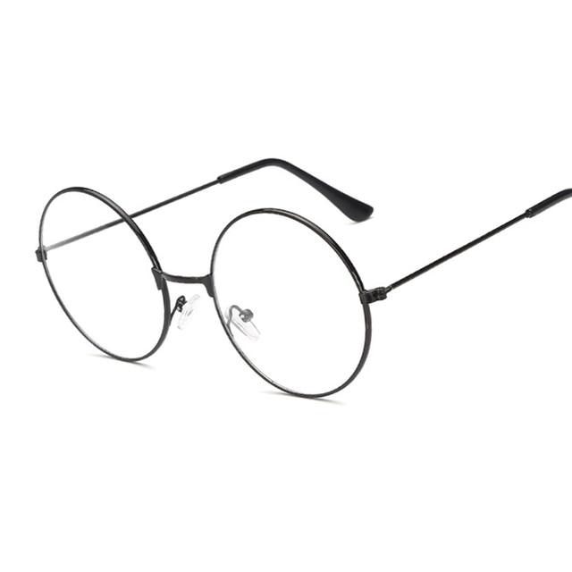 Vintage Round Harry Potter Glasses frame Female Brand ...