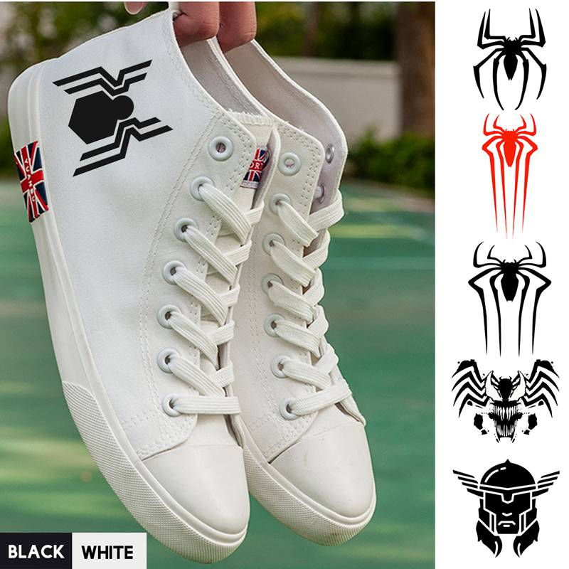 Honey Superhero Marvel Movie Venom/spider-man/thor High Top Canvas Uppers Sneakers College Personalise Fashion High-tops A193291 Men's Shoes Men's Vulcanize Shoes