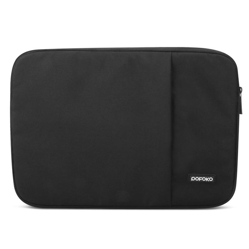 POFOKO Laptop ujjú táska Vízálló notebook táska tok Anti-sokk - Laptop kiegészítők - Fénykép 3