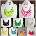 Free Shipping New Statement Teardrop Beaded Handmade Fashion Hot Sale Necklace
