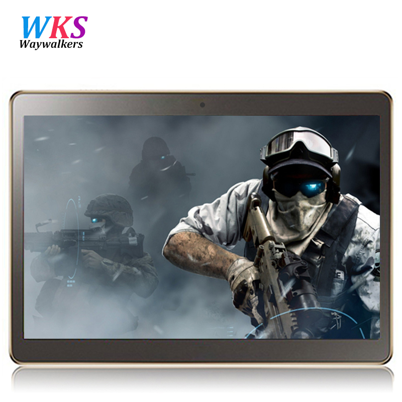 Waywalkers 9.6 inch tablet computer Octa Core T805s Android4.4 tablet pcs 3G LTE mobile phone rom 64GB ram 4G 5MP IPS MT6592