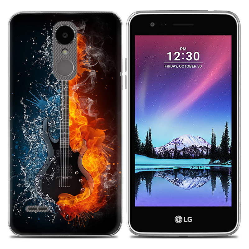 Kasus Telepon lunak untuk LG K8 2017 X240 Versi Eropa 5-inch TPU - Aksesori dan suku cadang ponsel - Foto 3