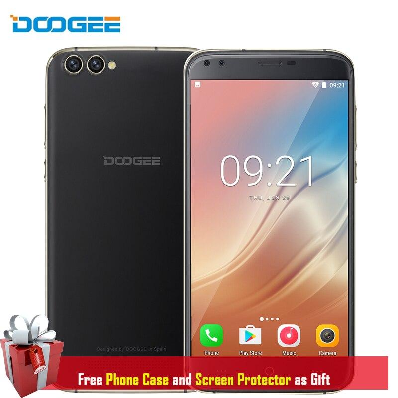 DOOGEE X30 Mobile Phone 2GB RAM 16GB ROM Android 7 0 Quad Core 3360mAh Quad Cameras