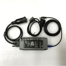 Full truck diagnostic wire for JCB Electronic Service Master Tool Interface heavy duty diagnostic scanner