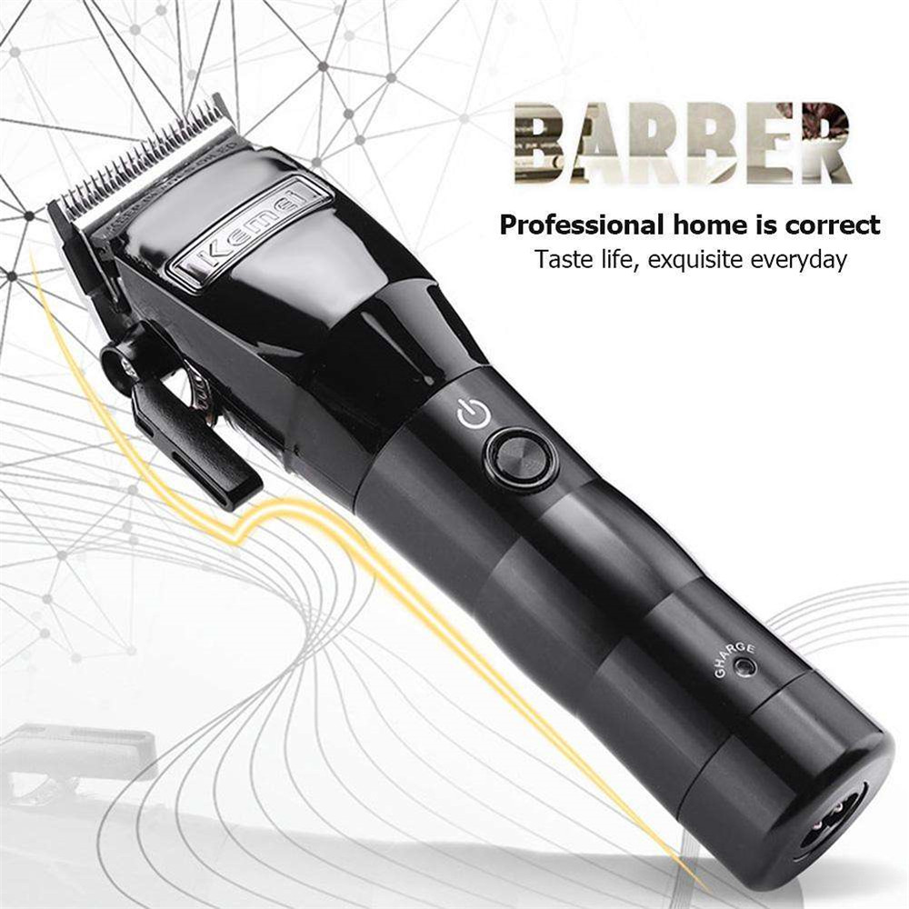 Kemei Professional Hair Clipper Electric Powerful Cordless Hair Trimmer Cutting Machine Haircut Trimmer Styling Tools Barber