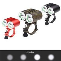 B2 Prawda LM 2 X XM-L T6 LED USB Wodoodporna Lampa Reflektor Rower rower Stop Aluminium Camping i Piesze Wycieczki Hurtowni i hurtownia