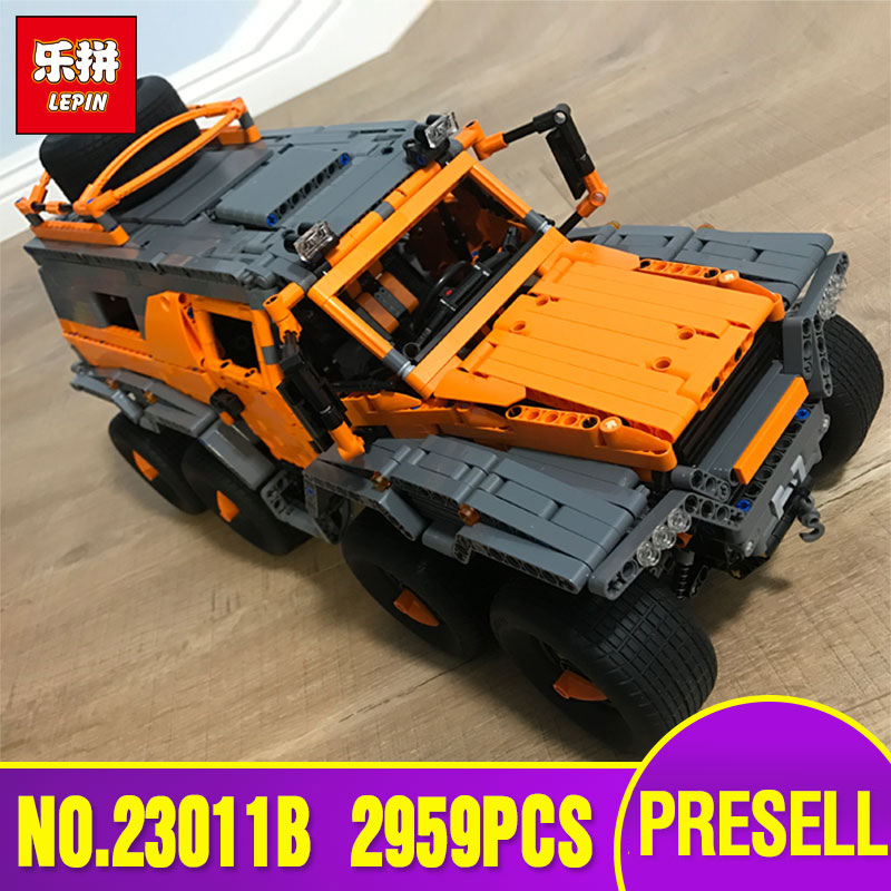 DHL LEPIN 23011B Technic Series Off-road vehicle Model Educational Toy Building Kits Block Bricks Compatible legoing 5360 model 2816 pcs lepin 23011 technic series off road vehicle model moc assembling building kits block bricks compatible 5360 toy