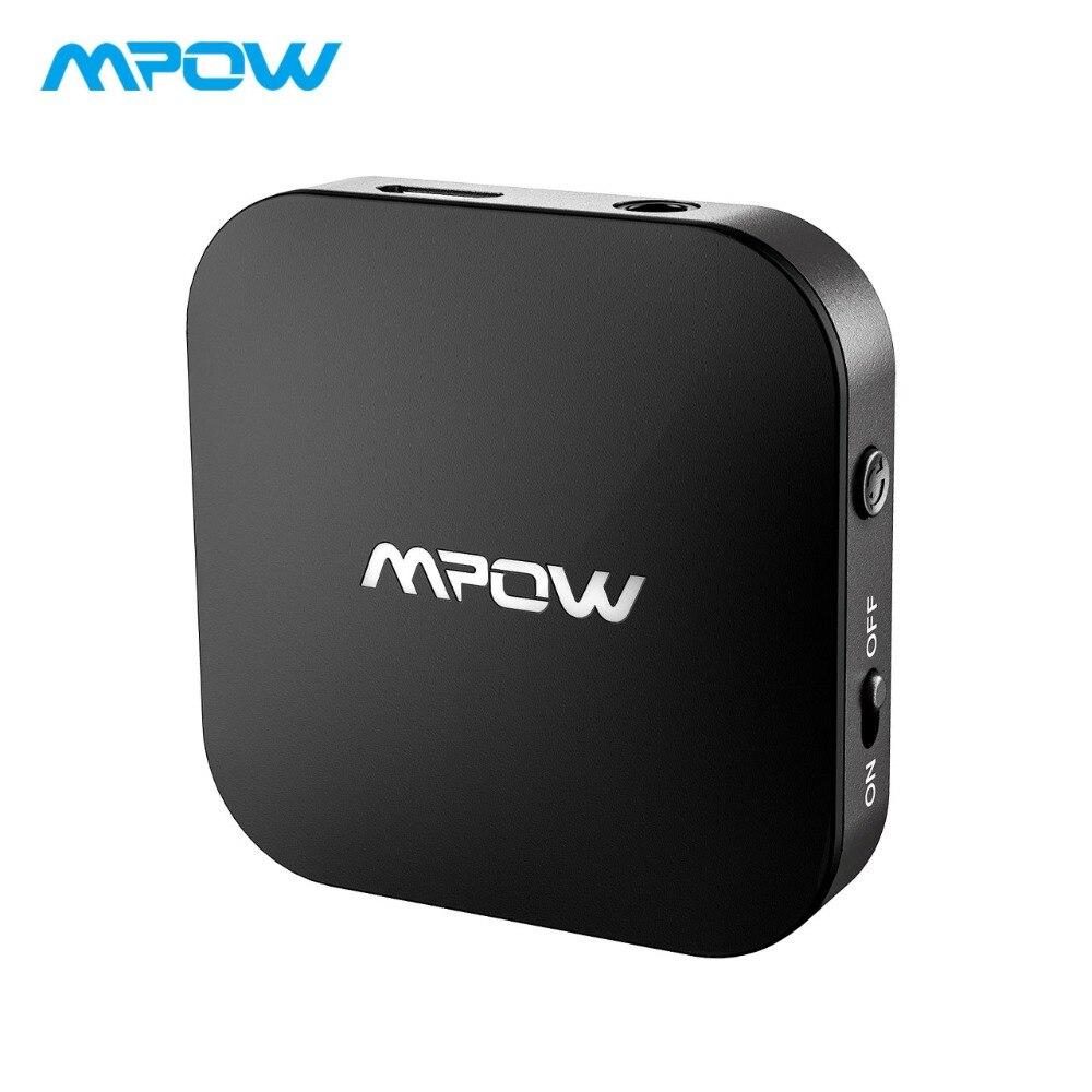 Mpow Bluetooth 5.0 Adaptateur Émetteur 22 H Temps de Jeu APTX/APTX-LL Sans Fil Transmetteur Adaptateur Pour TV/Home/ voiture/Casque