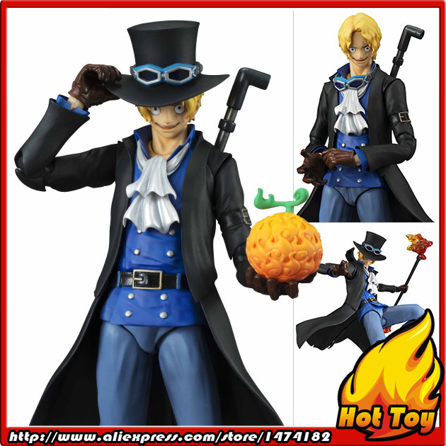 100% Original MegaHouse Variable Action Heroes Action Figure - Sabo from ONE PIECE japanese anime one piece original megahouse mh variable action heroes complete action figure dracule mihawk