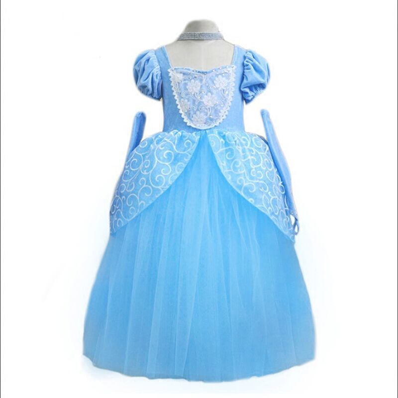 Children Fancy for Girls Princess Dress Cinderella Rapunzel Snow White Dress Christmas Carnival Costume For Kids Party Dresses hot new year children girls fancy cosplay dress snow white princess dress for halloween christmas costume clothes party dresses