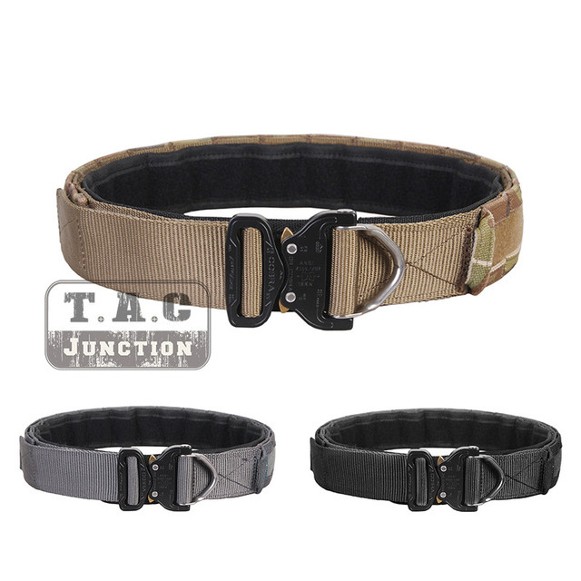 """Emerson Tactical Cobra 1.75""""&2"""" Multi Functional Duty Inner & Outer Two Belts Patrol Rigger Belt AustriAlpin Buckle Airsoft Gear"""
